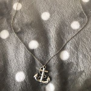 Betsey Johnson sailor necklace
